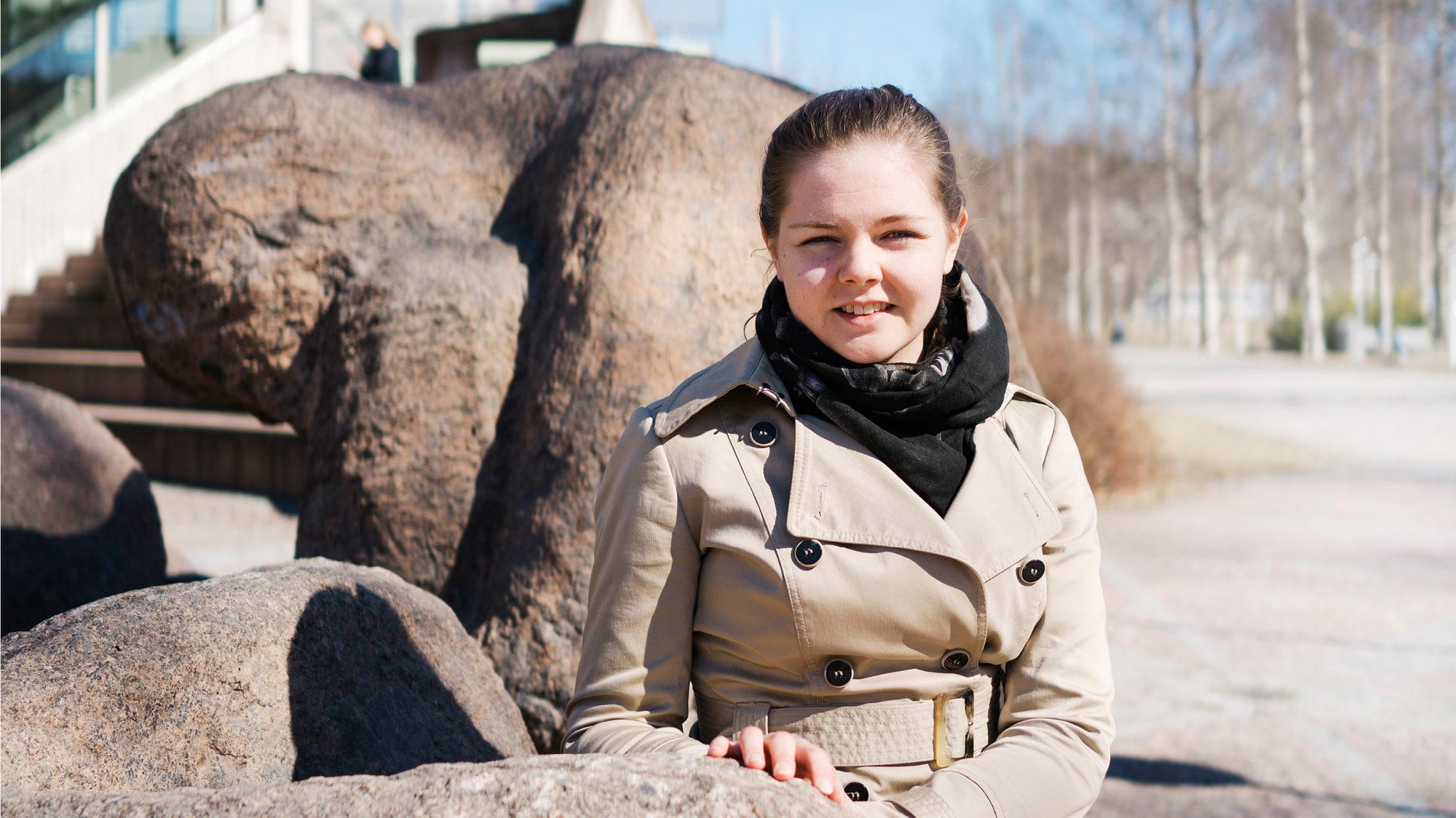 Maija Leino on JUKOn tekkiläinen luottamusmies ja edustaa Lappeenrannan teknillisessä yliopistossa nuorempia tutkijoita.