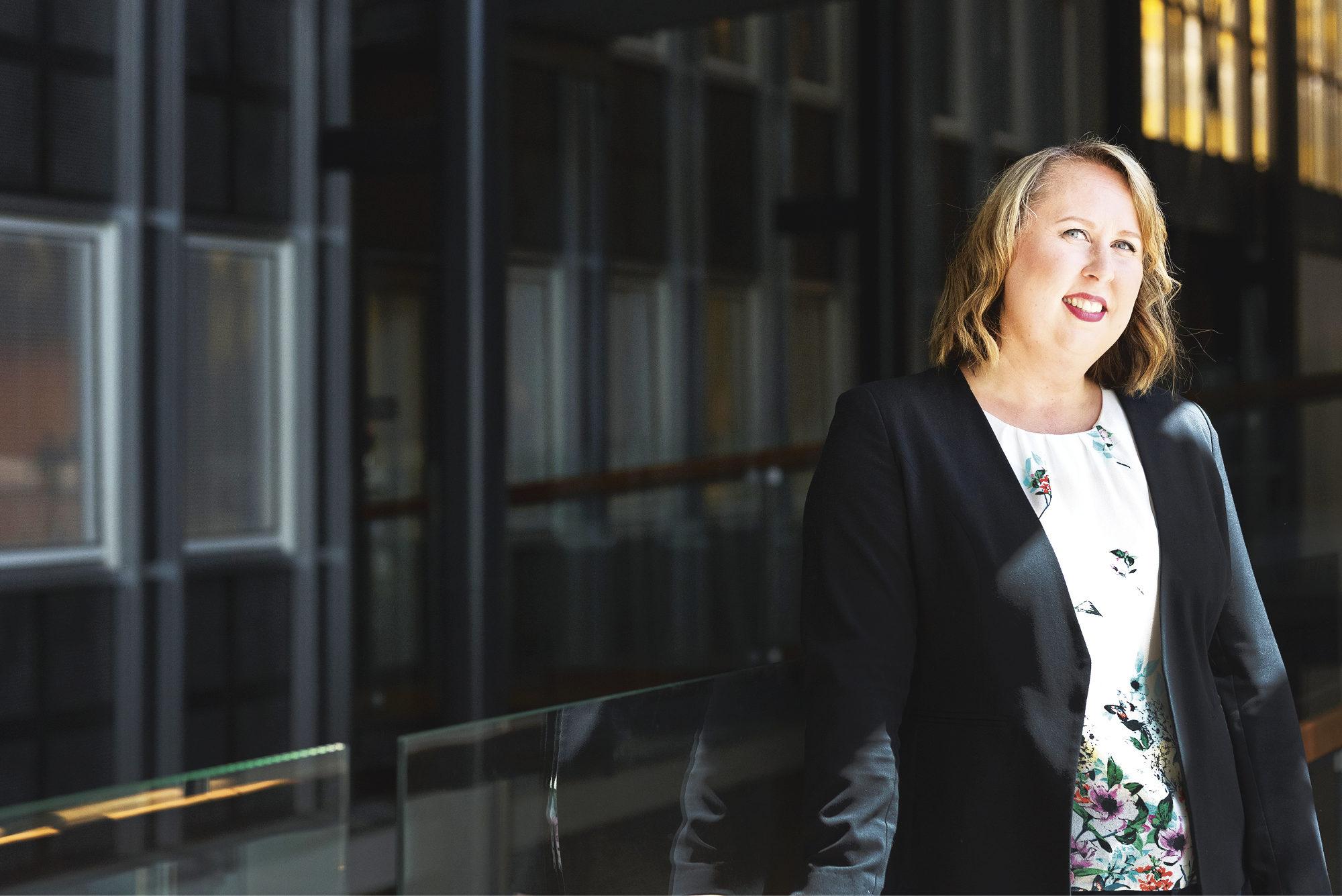 Terhi Vieno on  parhaillaan vaihto-opiskelijana Bristolissa. Takana on jo vuoden opinnot Kaupan ja palvelujen maisteriohjelmassa Turussa.