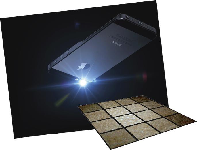 Aittalan materiaalinkaappausalgoritmin lähtötiedoksi riittää yksi salamavalolla valaistu kännykkäkuva. Algoritmi mallintaa pinnan ja sen valonheijastavuuden. Mallilla voi päällystää virtuaalimaailman pintoja niin, että tulos näyttää aidolta valaistuksen suunnasta riippumatta.