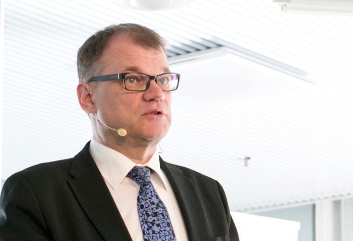 Tech Day Finland -tapahtumassa puhunut pääministeri Juha Sipilä uskoo, että t&k-panostukset pystytään nostamaan neljään prosenttiin bruttokansantuotteesta.