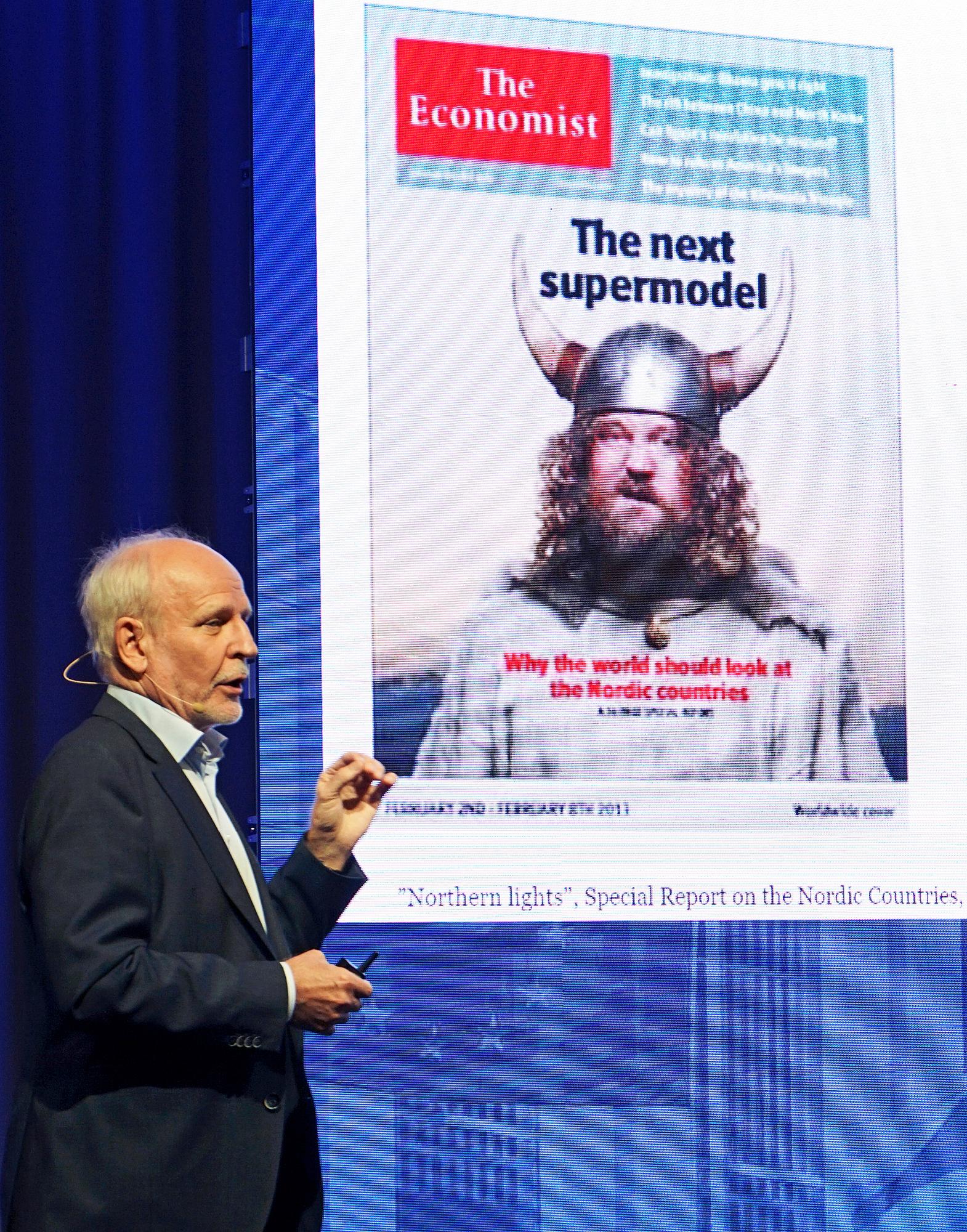 Pohjoismaista hyvinvointiyhteiskuntaa katsotaan maailmalla ihaillen. Uudelleenrakennusta kuitenkin tarvitaan, huomautti professori Matti Pohjola.
