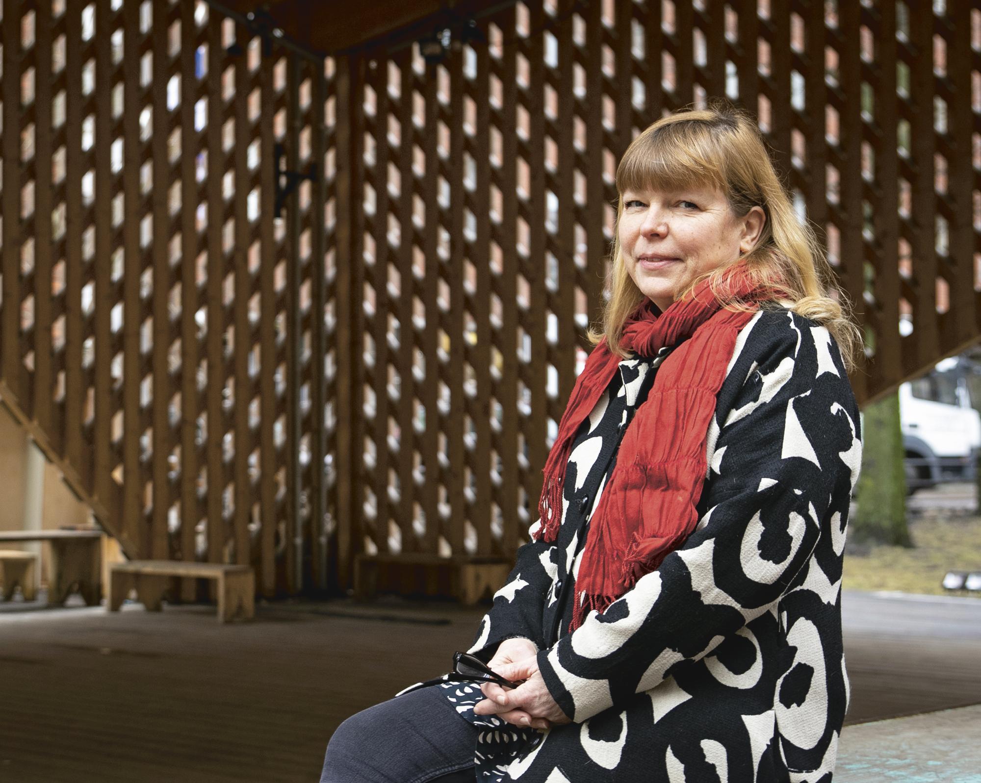 - Ekologisuus on minulle työssäni myös henkilökohtaisesti merkittävä asia, Suvi Tyynilä sanoo.